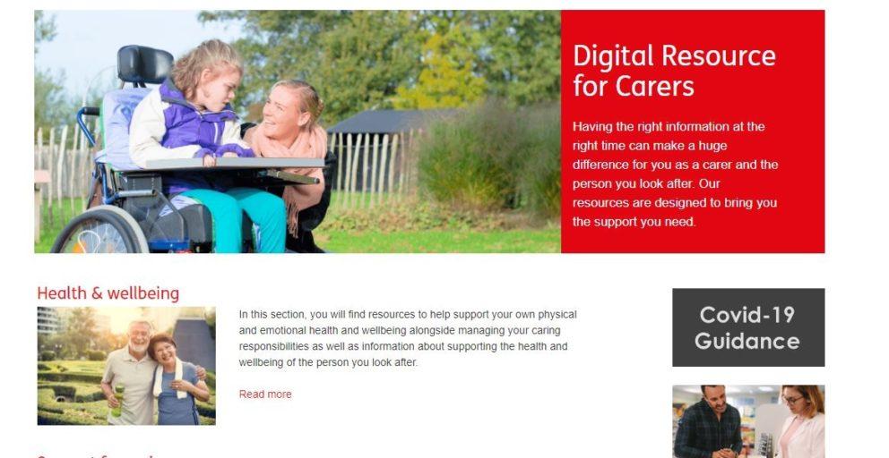 Norfolk County Council's Digital Resource for Carers platform