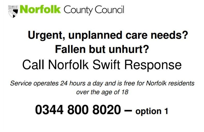 Norfolk County Council Swift Response Service