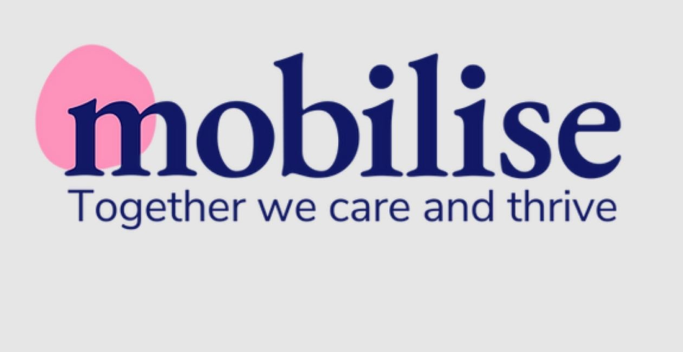 Mobilise - together we care and thrive - logo